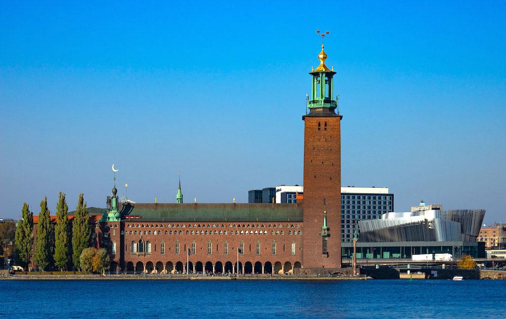 スウェーデン街並み画像